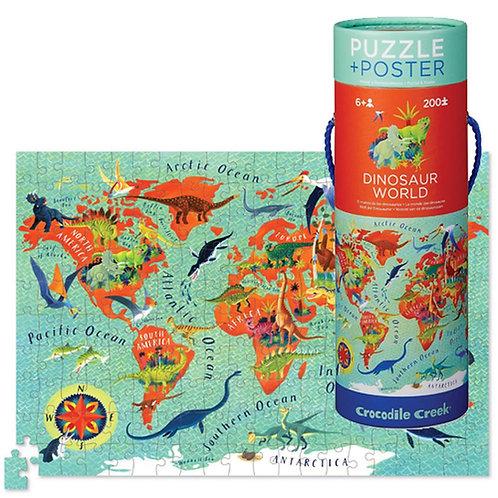 Puzzle dinosaures - 200 pièces