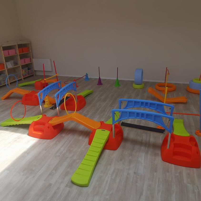Baby Gym : psychomotricité + éveil musical : Enfant de 18 à 36 mois.
