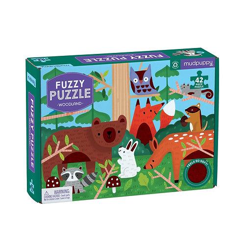 Puzzle fourrure - forêt