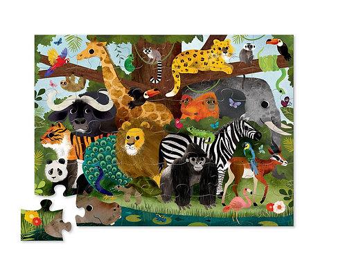Puzzle jungle : 36 pièces