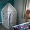 Thumbnail: Cabane à colorier : tétragone avec toit