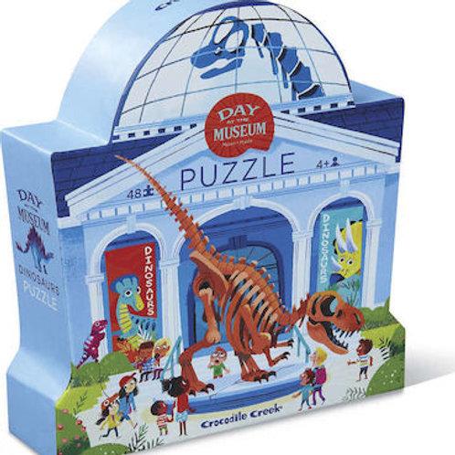 Puzzle musée des dinosaures - 48 pièces