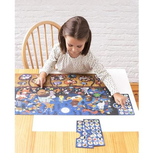 Puzzle observation : La forêt 104 pièces