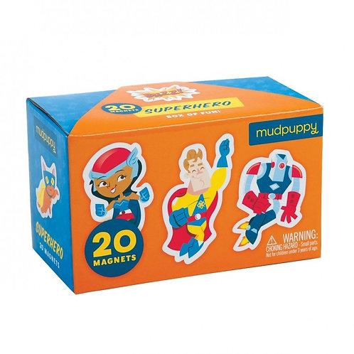 Boîte de 20 aimants : super-héros