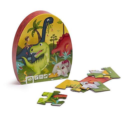 Puzzle dino : 24 pièces