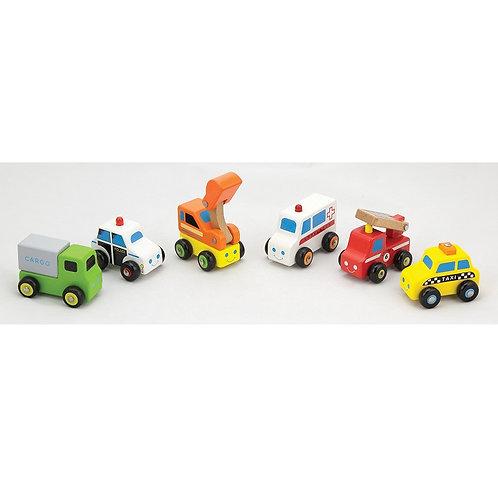 Set de 6 véhicules
