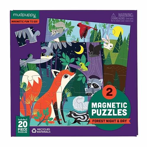 Puzzles magnétiques 20 pièces -forêt