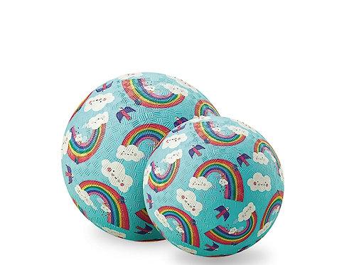Ballon arc en ciel : 18 cm