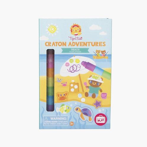 Set pastel aventures - plage