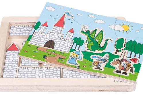 Puzzle château fort / jeu de rôle