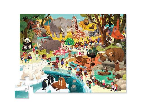 Puzzle zoo - 48 pièces