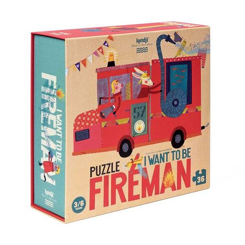 """Puzzle : """"Je veux être un pompier"""""""