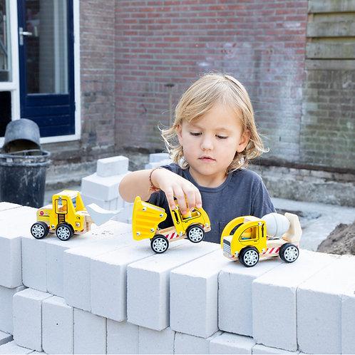 Set de véhicules de construction