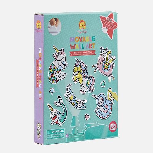 Stickers muraux : créatures magiques