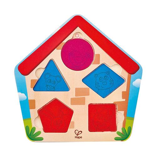 Puzzle : Qui se cache dans la maison ?