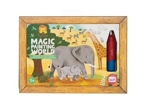 Tableau magique eau - safari