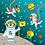 Thumbnail: Puzzles magnétiques 20 pièces - aventure spatiale