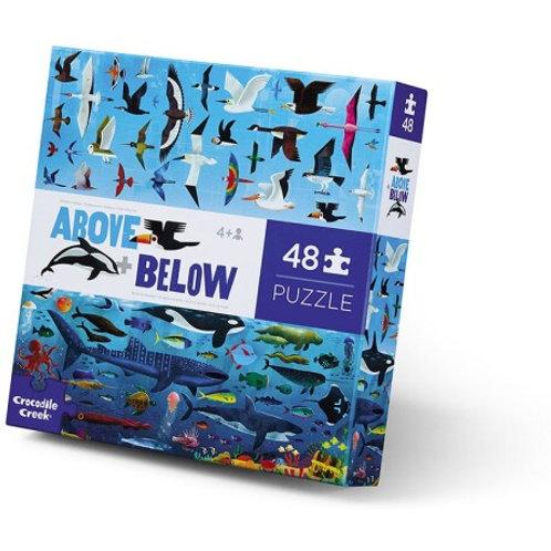 Puzzle opposés mer et air- 48 pièces