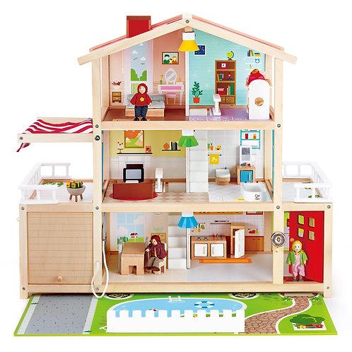 Villa moderne de poupées
