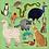 Thumbnail: Puzzles magnétiques 20 pièces - animaux