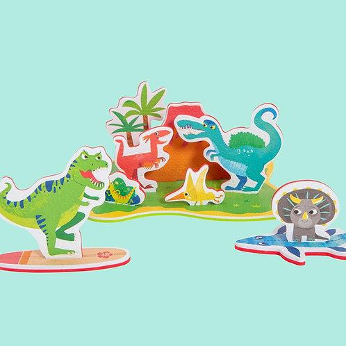 Dinosaures de bain