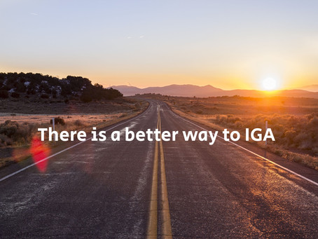 There is a better way to IGA.