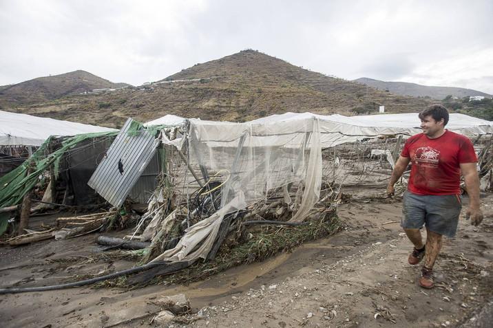 COAG GRANADA valora las ayudas para los afectados por la riada