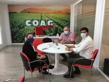 COAG GRANADA TRASLADA SUS REIVINDICACIONES PARA EL SECTOR AGRARIO AL GRUPO PARLAMENTARIO DE CIUDADAN
