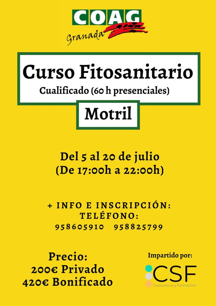 Curso Fitosanitario (Cualificado)