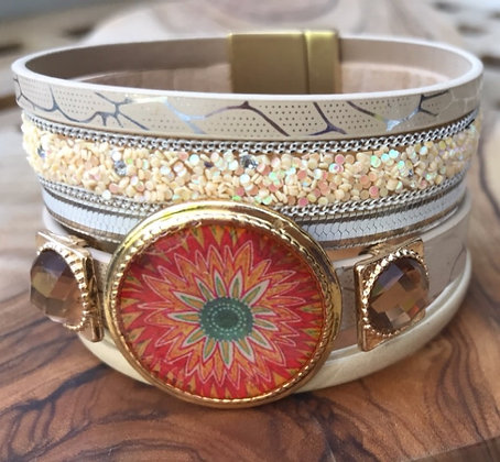 Bloom Sunburst Cufflet