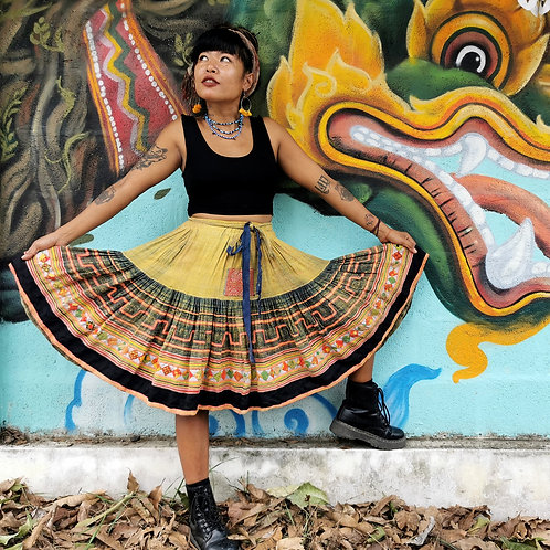 Chinese Hmong skirt