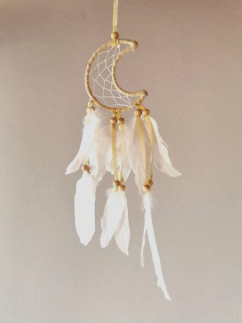 Angel Moon Feather Dreamcatcher