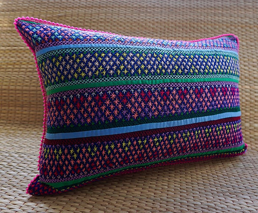 Kiara Cross Stitch Cushion FREE SHIPPING