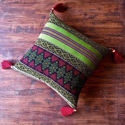 Burmese Days Myanmar Longyi Cushion Cover FREE SHIPPING