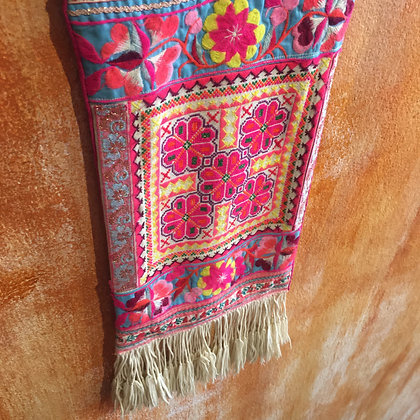 Vintage Hmong Textile Wall Hanging- FREE SHIPPING