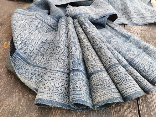 Faded Indigo fabric