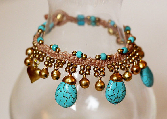 Jemima Bracelet- Turquoise