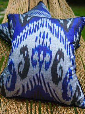 Sovereign Ikat Silk Cushion Cover