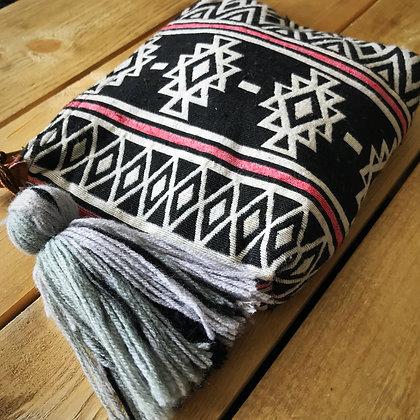 Navajo Make Up Travel Bag- Serengeti Tribal Geometric