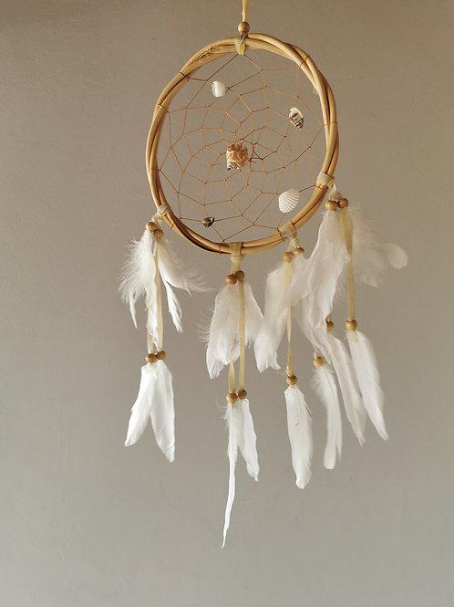 Bamboo Ring Shell Dreamcatcher