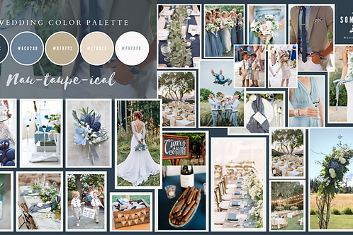 custom wedding design concept