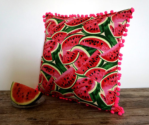 Tutti Frutti Watermelon Cushion Cover- FREE SHIPPING
