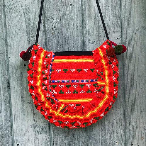 Helinka Hmong Half Circle Cross Body Bag 2