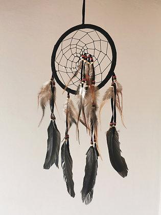 Raven Spirit Dreamcatcher- Med