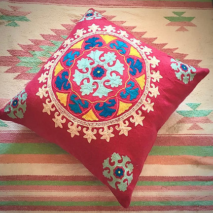 Embroidered suzani