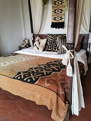 African bed cover