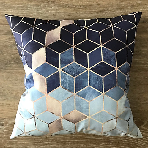 Cubist Cushion Cover- Granite