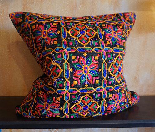 Arabesque Quatrefoil Rainbow Cushion Cover FREE SHIPPING