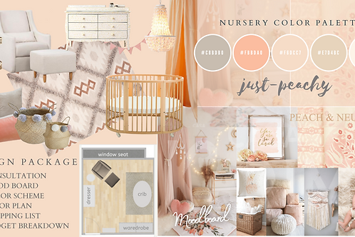 Custom Nursery Interior E-Design Package *LIMITED TIME DISCOUNT*