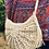 Thumbnail: Saffy Woven Raffia Semi Circle Cross Body Bag- Sand